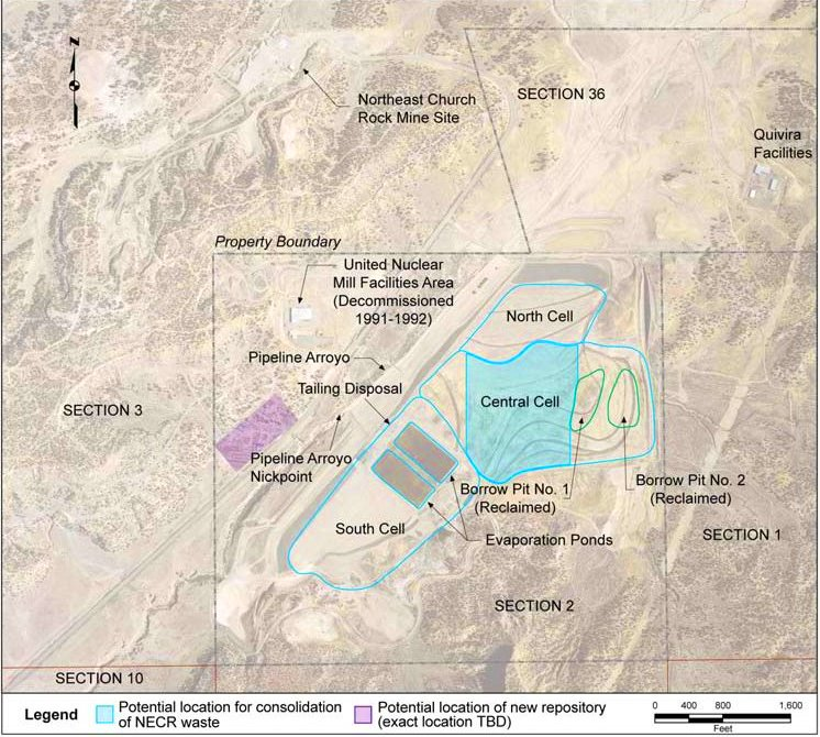 Mine Site Map Example: Report From Church Rock: A Uranium Legacy Update