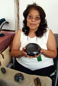 Kathy Sanchez of San Ildefonso Pueblo