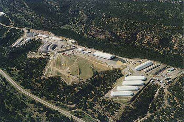 LANL Area G. Los Alamos Study Group photo