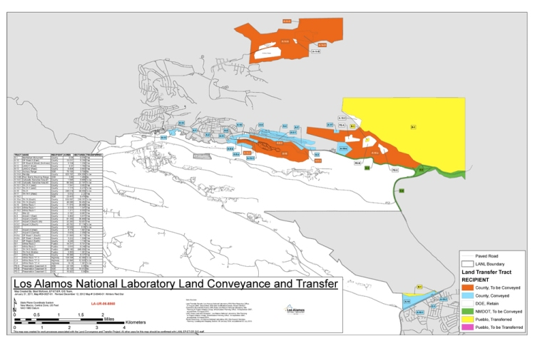 LANL land exchange_map_2013 2