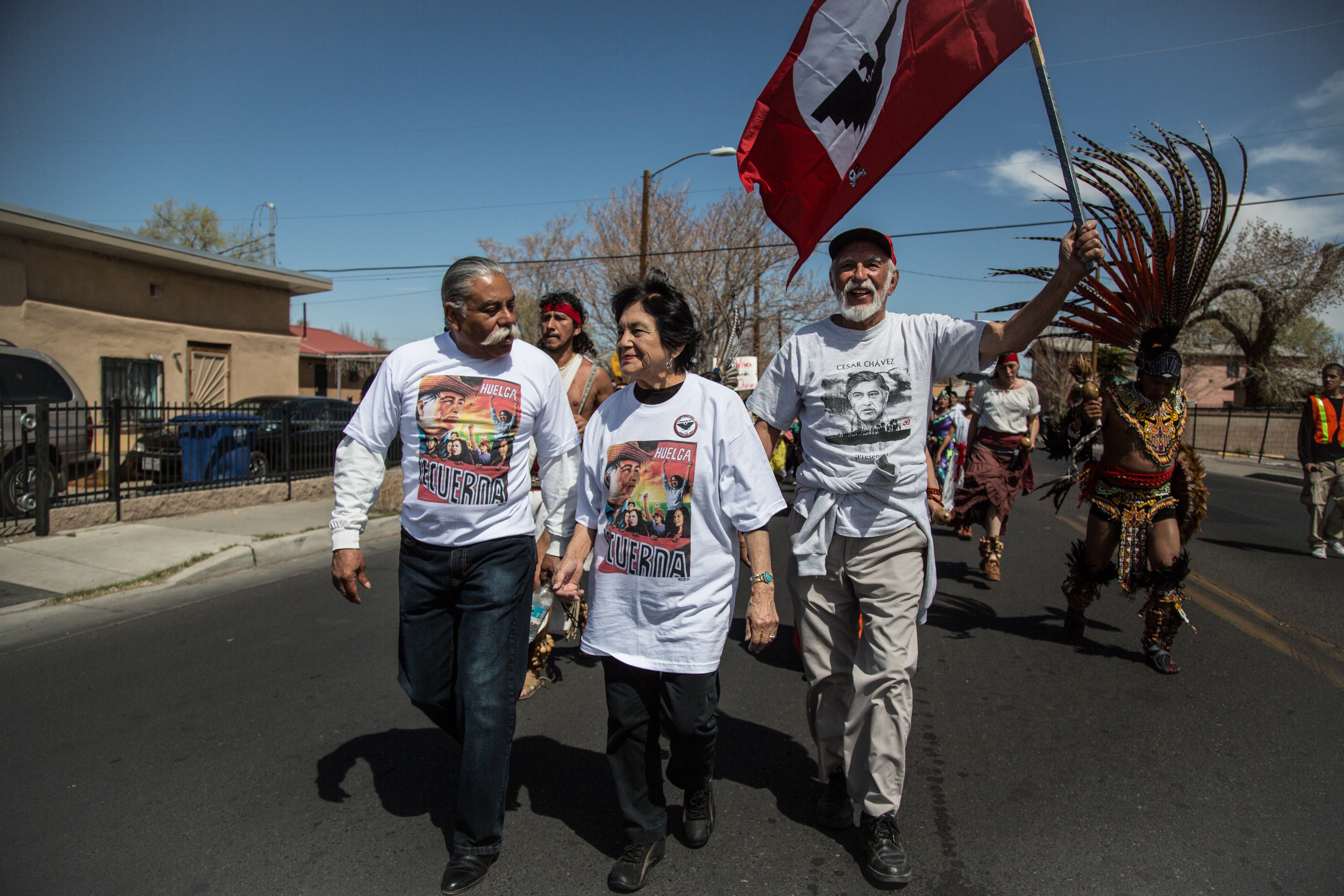 dolores huerta headlines twentieth annual c atilde copy sar ch atilde iexcl vez day dolores huerta ufw co founder lead saturday s for justice in