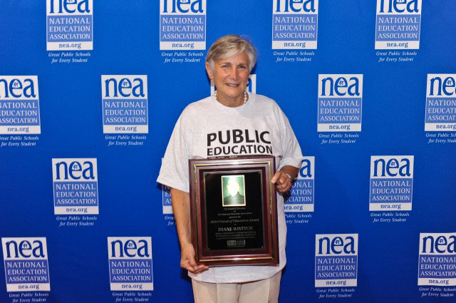 Educator Diane Ravitch