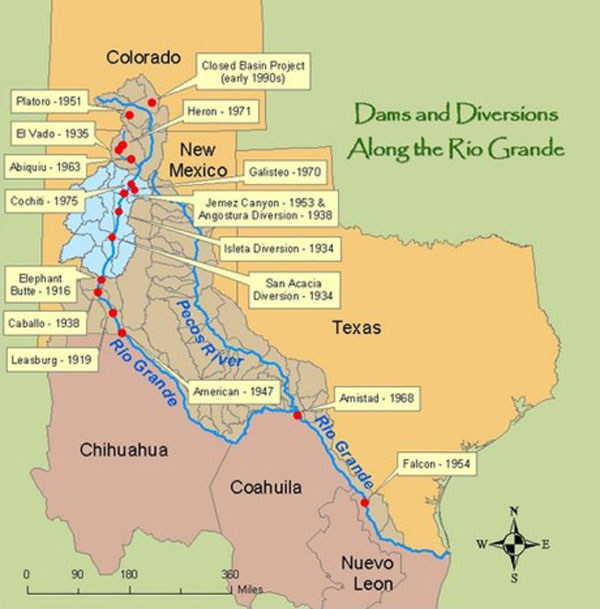 Rio Grande dams