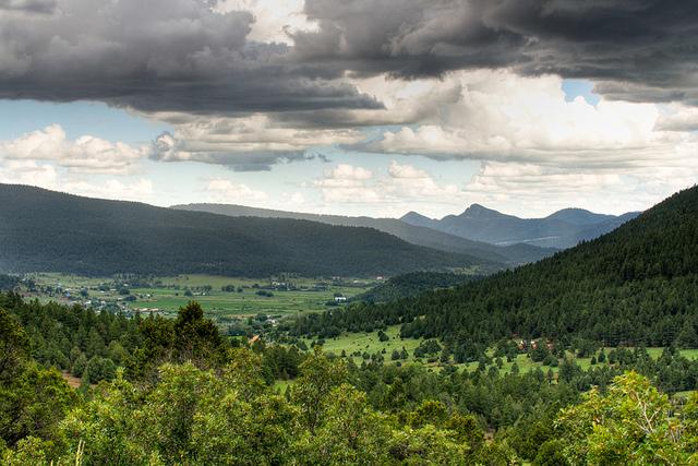 Mora Valley from Holman Hill. www.flickr.com photo