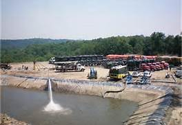 Fracking wastewater pool. barryonenergy.wordpress.com photo