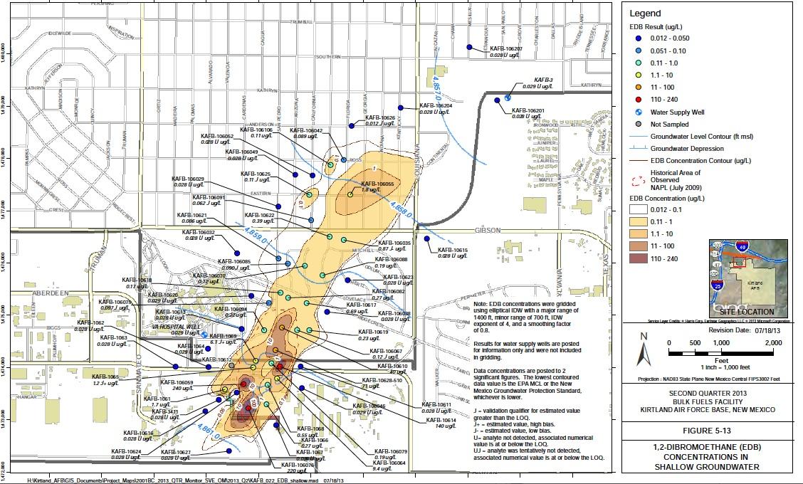 The Kirtland Air Force Base Jet Fuel Spill: An Update – La Jicarita