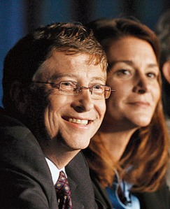 Bill and Melinda Gales