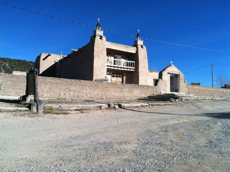 Village of Las Trampas, San José de Gracia Church. Photo by Willa Correia-Kuehn