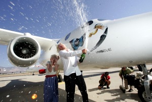 Image of Richard Branson being a rich guy.