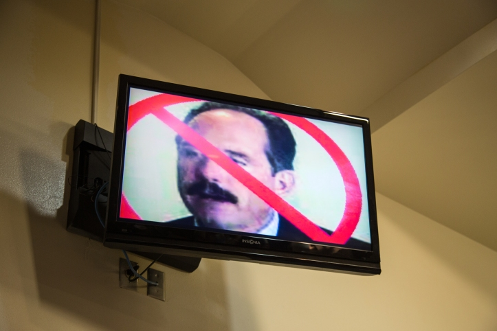 Several speakers broadcasted Mayor Richard Barry's face crossed out on the council chamber television screens, and demanded his immediate termination for his hiring of Police Chief Gordon Eden (whose immediate removal was also called for).