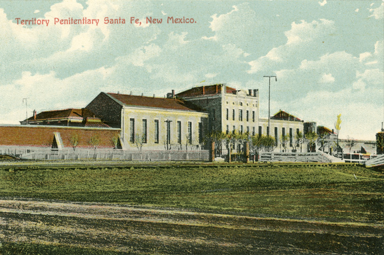New Mexico Territorial Penitentiary built in 1885