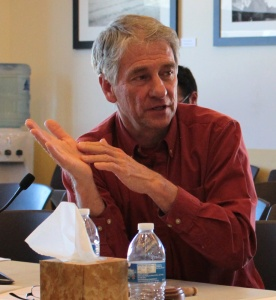 Taos County Commission Chairman Tom Blankenhorn. Photo by Robin Collier