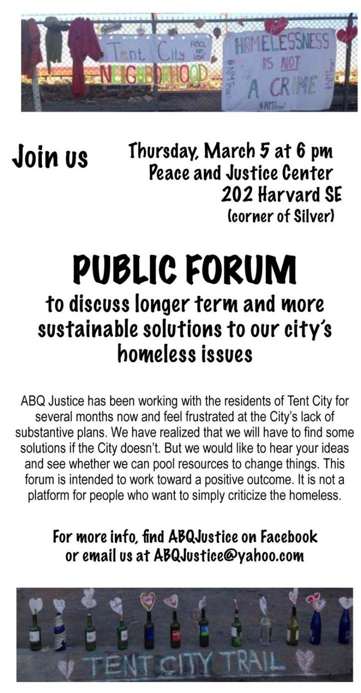 forum flyer