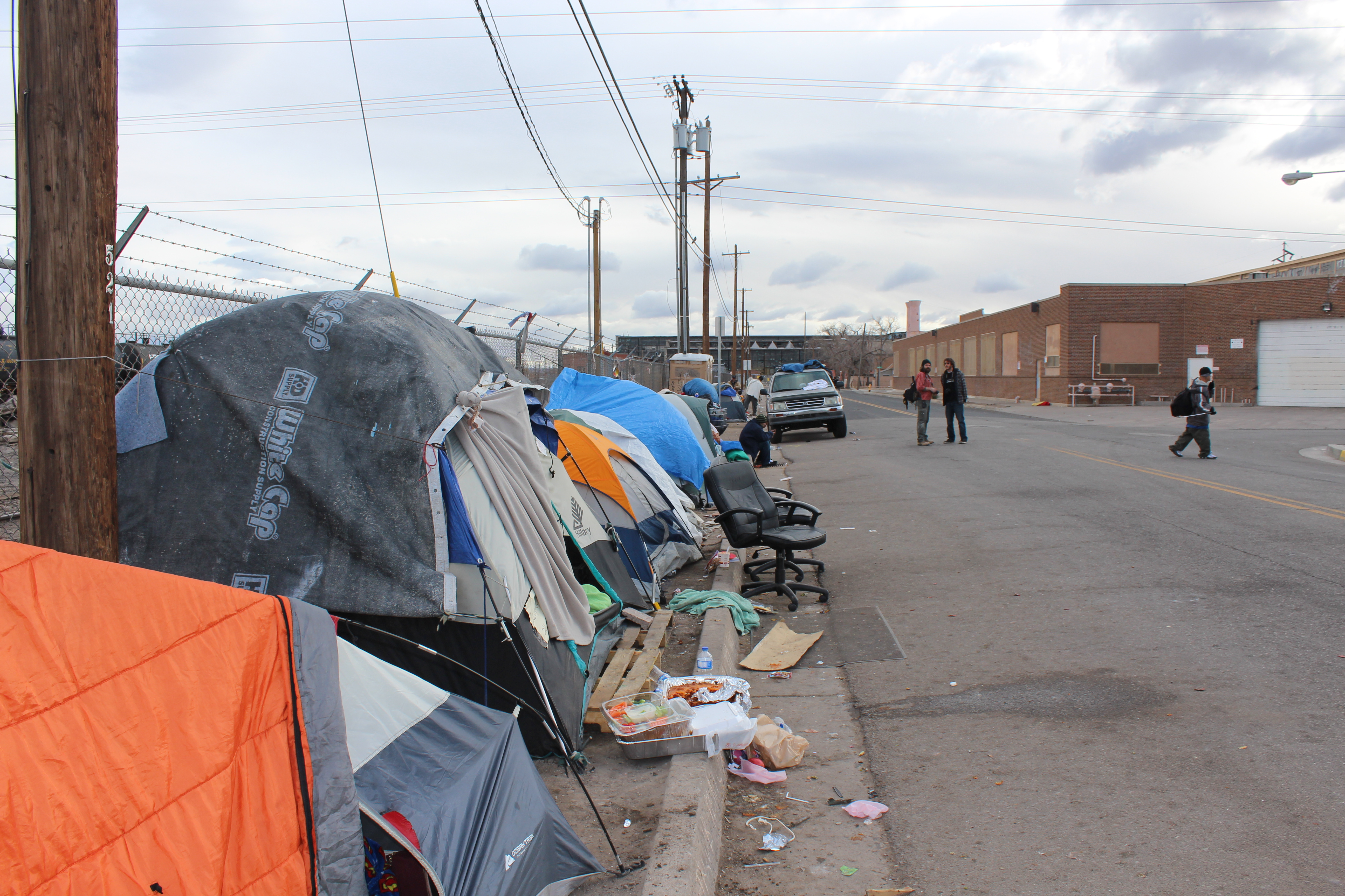 Reprieve for tent city residents short lived future in for In the city of la